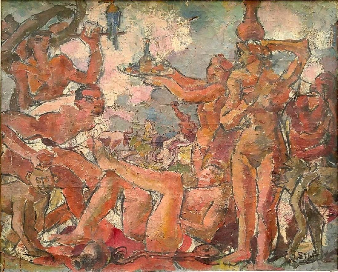 Arno Stern (Belgian,  1888 - 1949 )