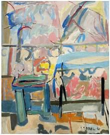 Jehudith (Judyta) Sobel (American - Polish, 1924-2012)