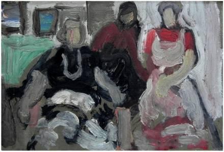 Moshe Rosenthalis (Lithuanian - Israeli, 1922-2008)