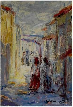 Shmuel Lamm (Israeli- Polish, 1905-1994)