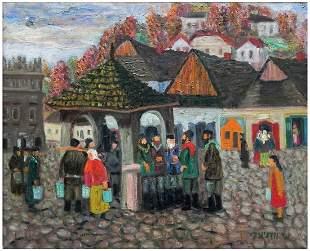 Shmuel Woodnitzky (Polish - Israeli, 1895-1980)