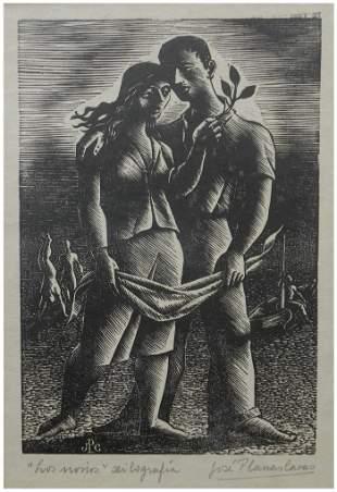 Jose Planas Casas (Argentinian - Spanish, 1900–1960)