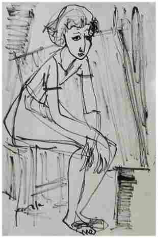 Ervin Neuhaus (Hungarian - French, 1928 - 2012)