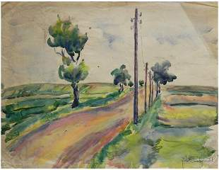 Jacob Bornfriend (Slovakian - British, 1904-1976)