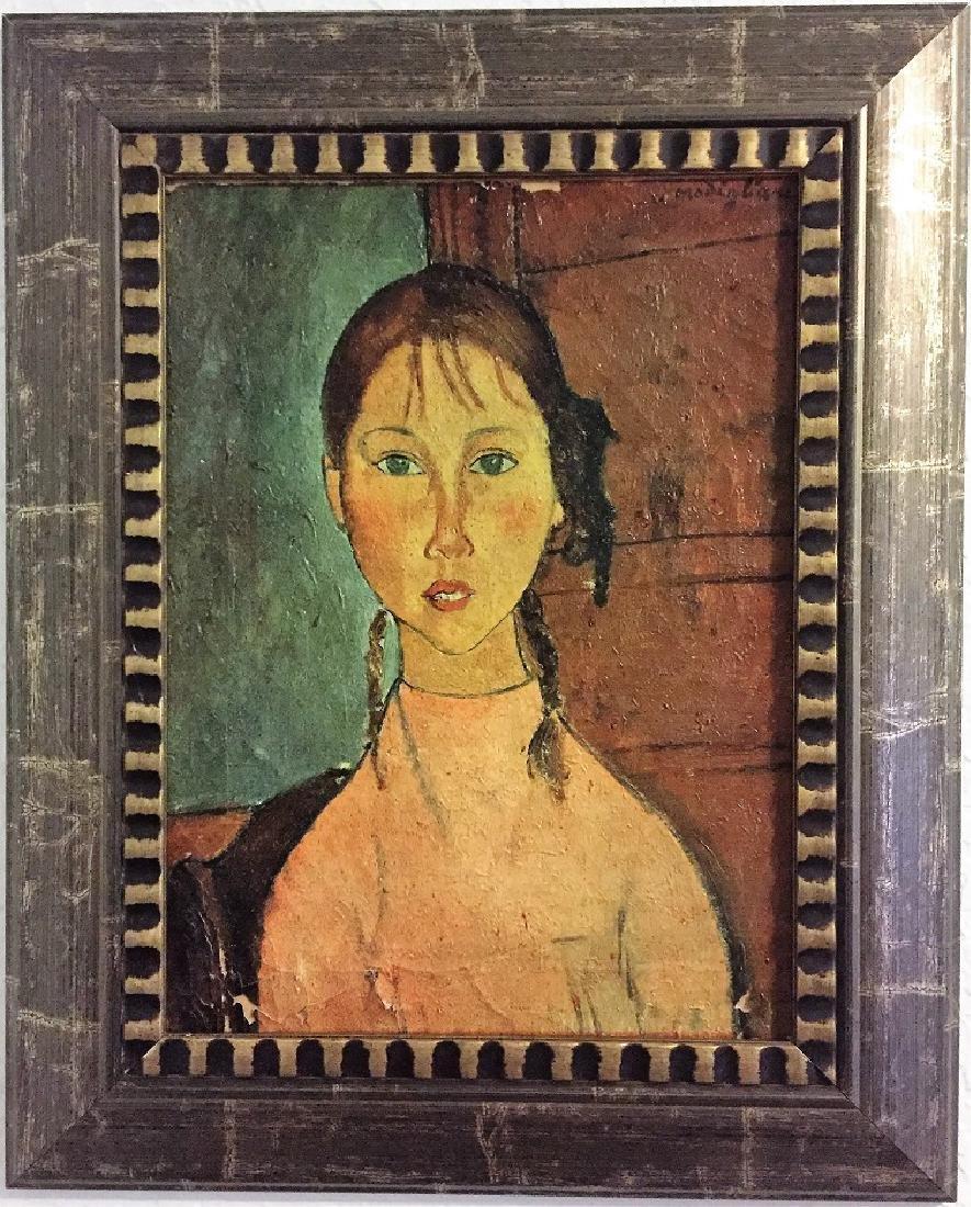 Amedeo Modigliani  Oil on Canvas  Attrib./CERTIF