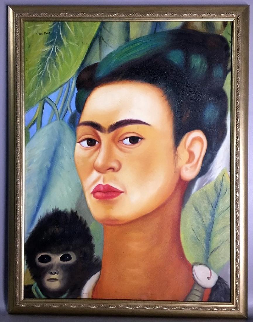 Frida Kahlo oil on canvas   Attrib./CERTIF