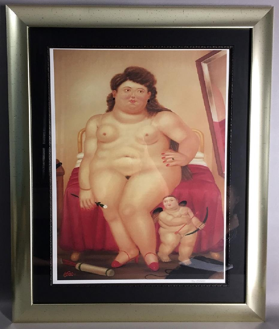 Fernando Botero Lithography