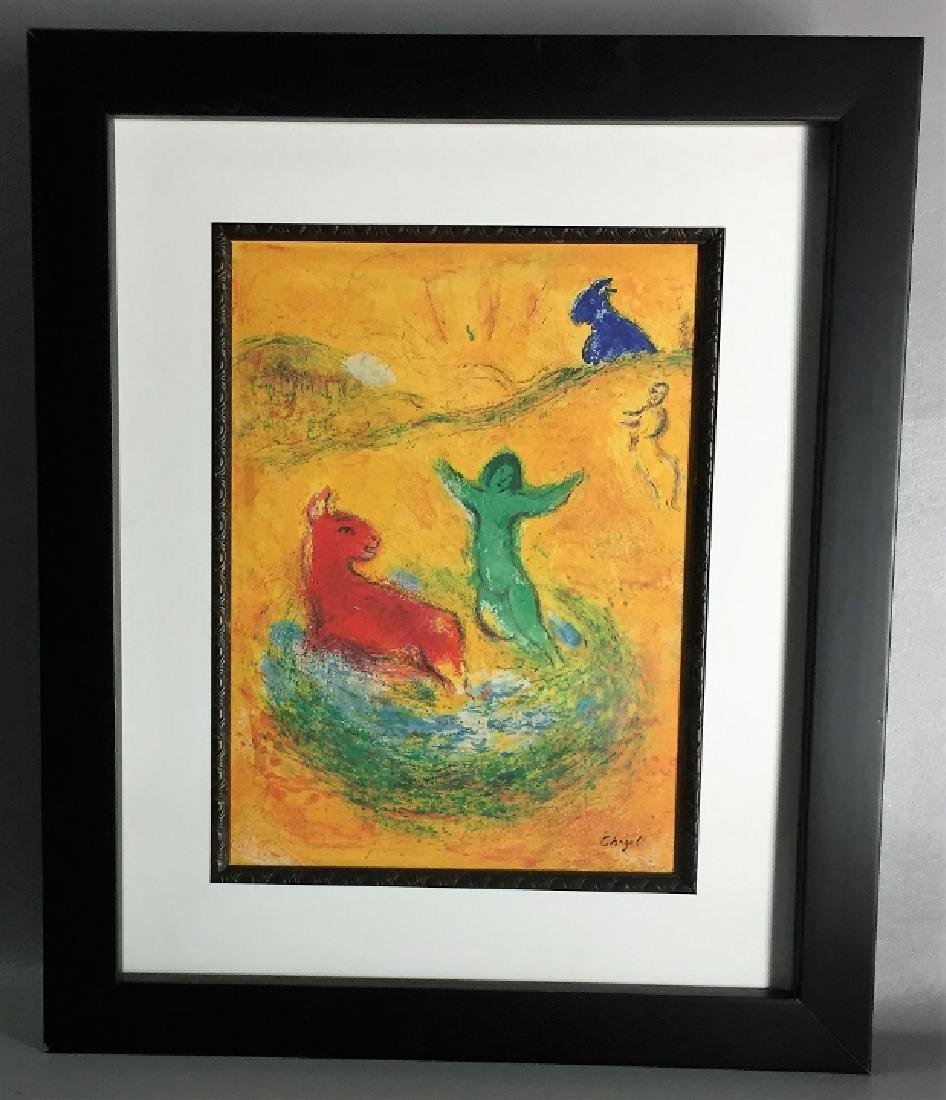Marc Chagall Lithography