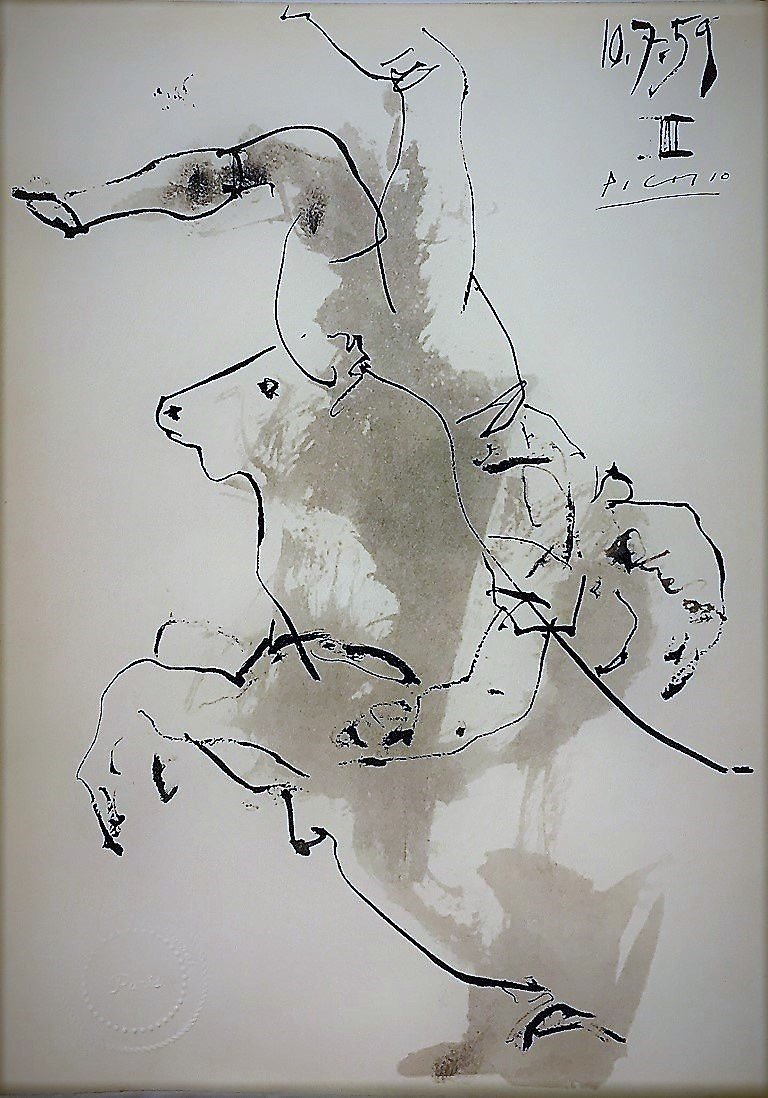 Pablo Picasso Lithography signed