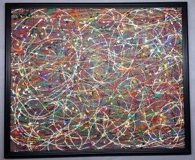 Paul Jackson Pollock Oil on canvas