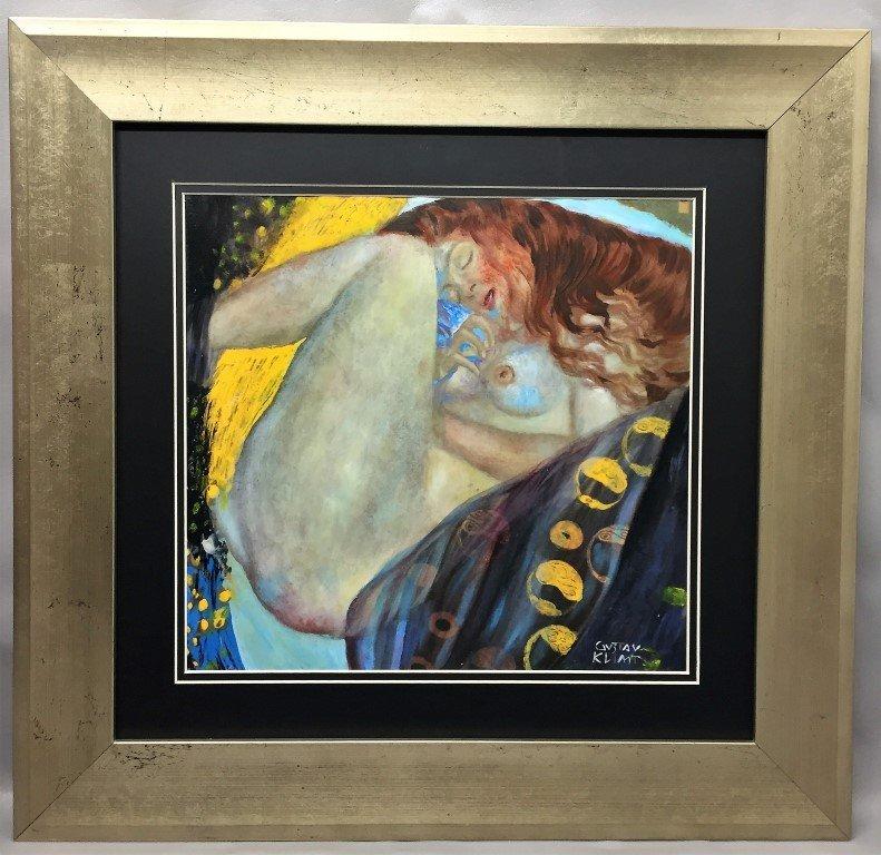 Gustav  Klimt mixed on paper