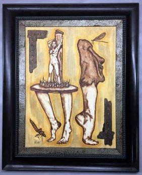 Salvador Dali  oil on canvas