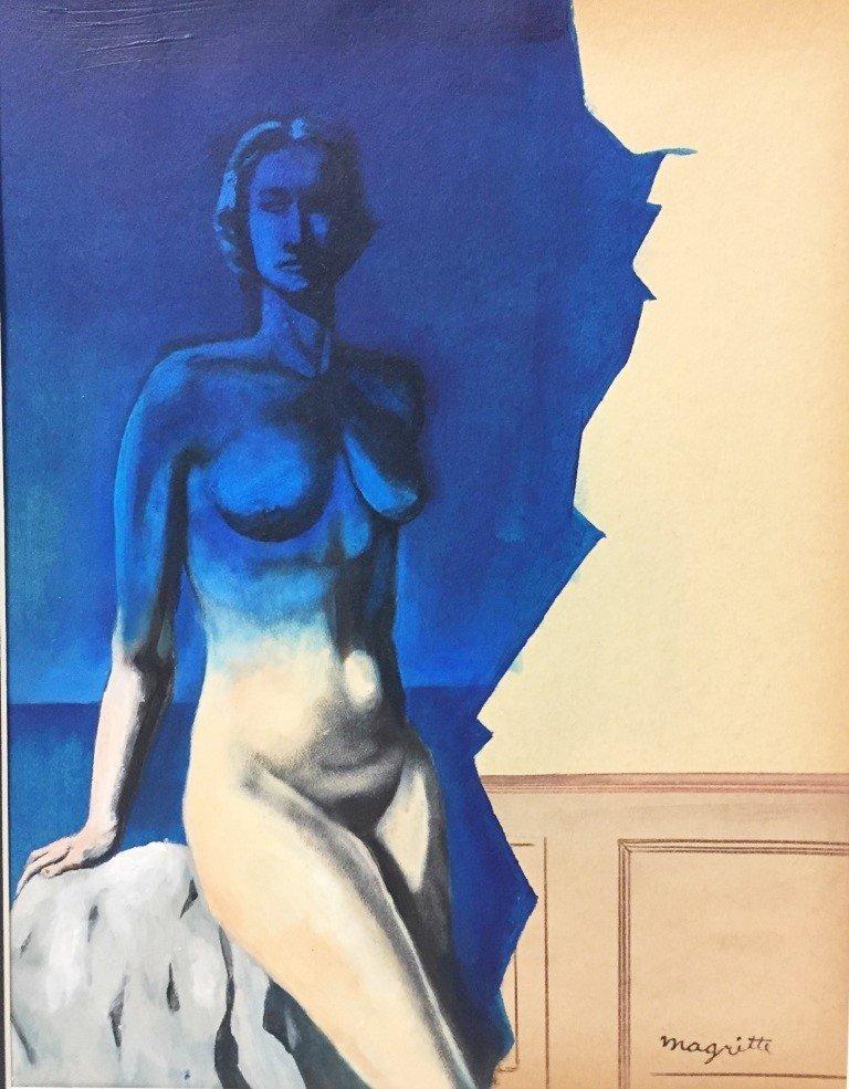 René François Ghislain Magritte Mixed Media