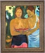 Paul Gauguin Oil on canvas