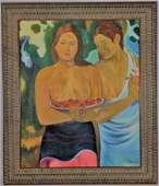 Henri Paul Gauguin Oil on canvas