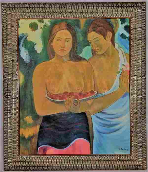 Henri Paul Gauguin Oil on canvas