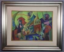 Max Ernst Watercolor