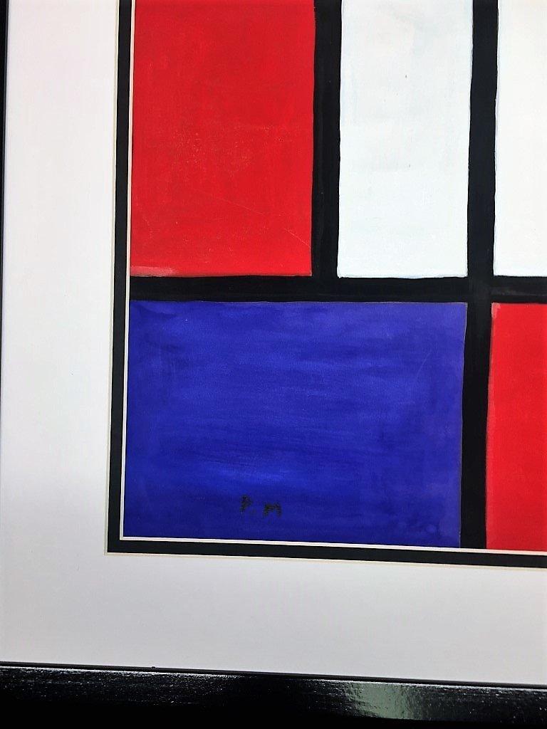 Piet Mondriaan Oil on Paper - 2