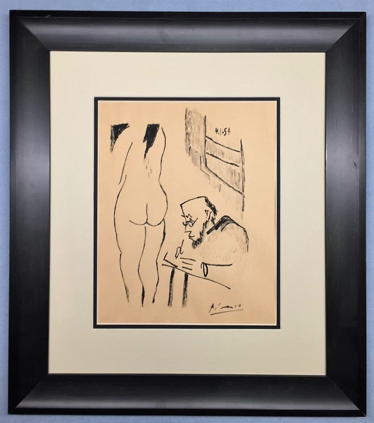 Pablo Picasso Ink on paper