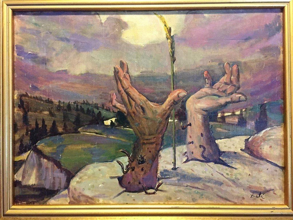 Salvador Dali  oil on canvas - 2
