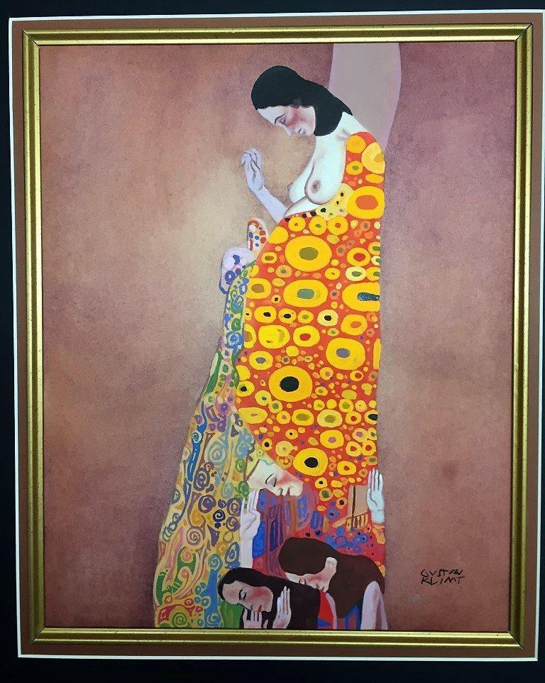 Gustav Klimt  Mixed Media  on Paper - 2