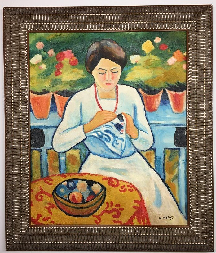 Henri Matisse  Oil on Canvas