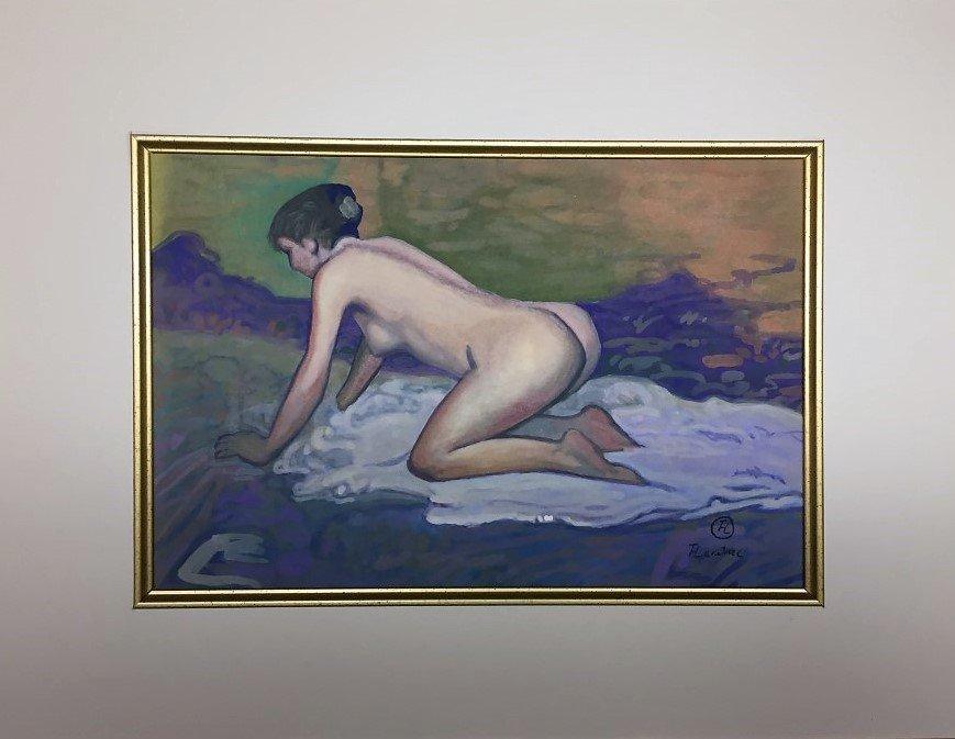Toulouse Lautrec  Watercolor - 2