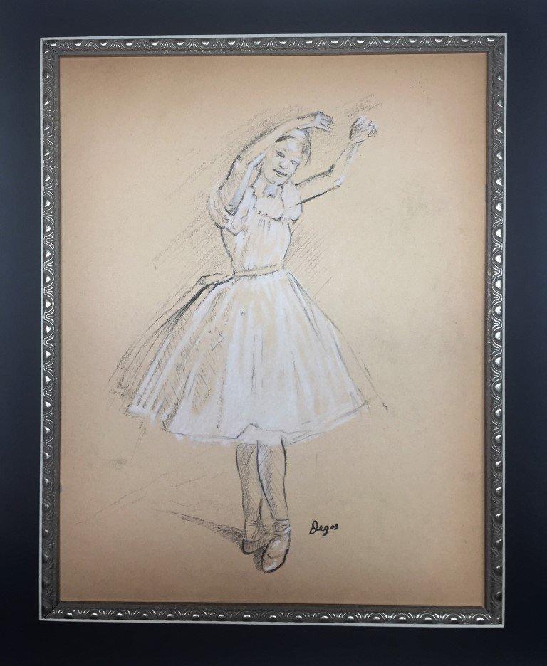 Edgar Degas  Drawing on Paper - 2