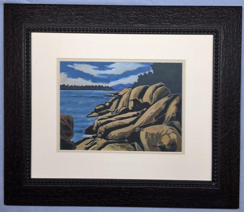 Marsden Hartley Watercolor