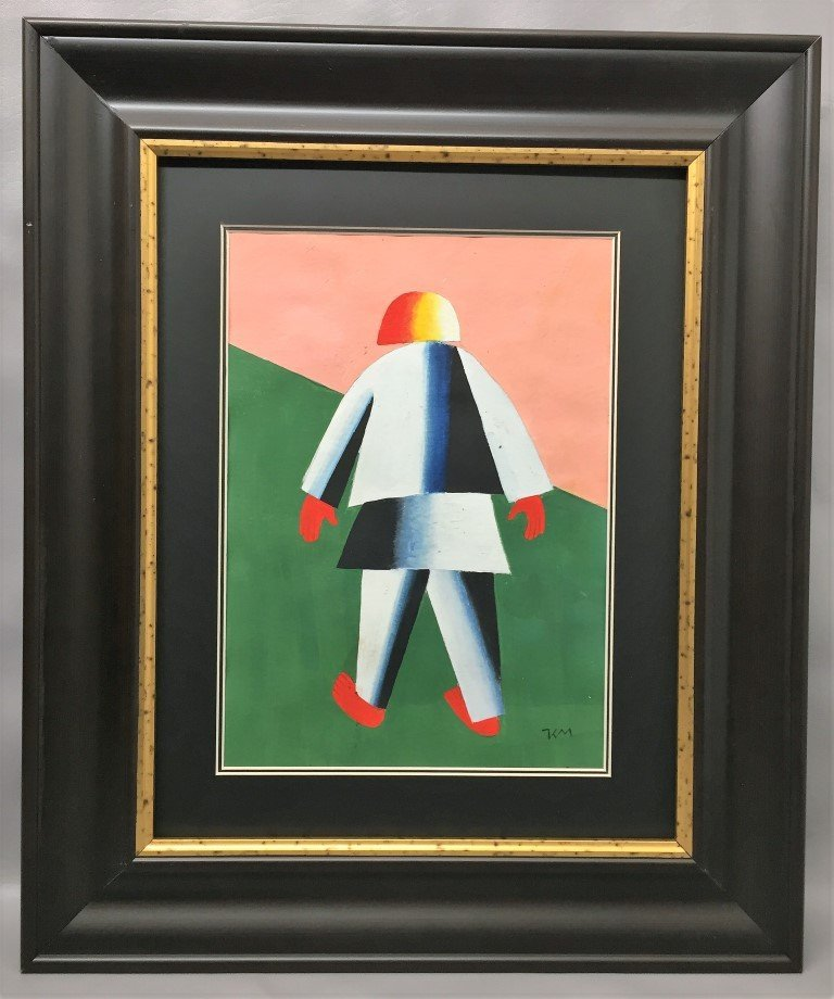 Kazimir Malevich Oil on paper