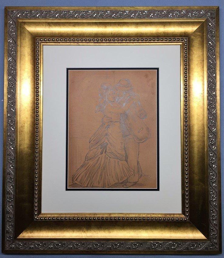 Pierre-Auguste Renoir Graphite on Paper