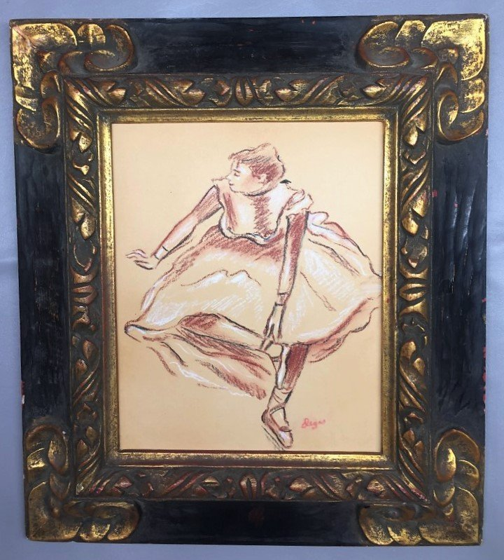 Edgar Degas  Pastel on Paper