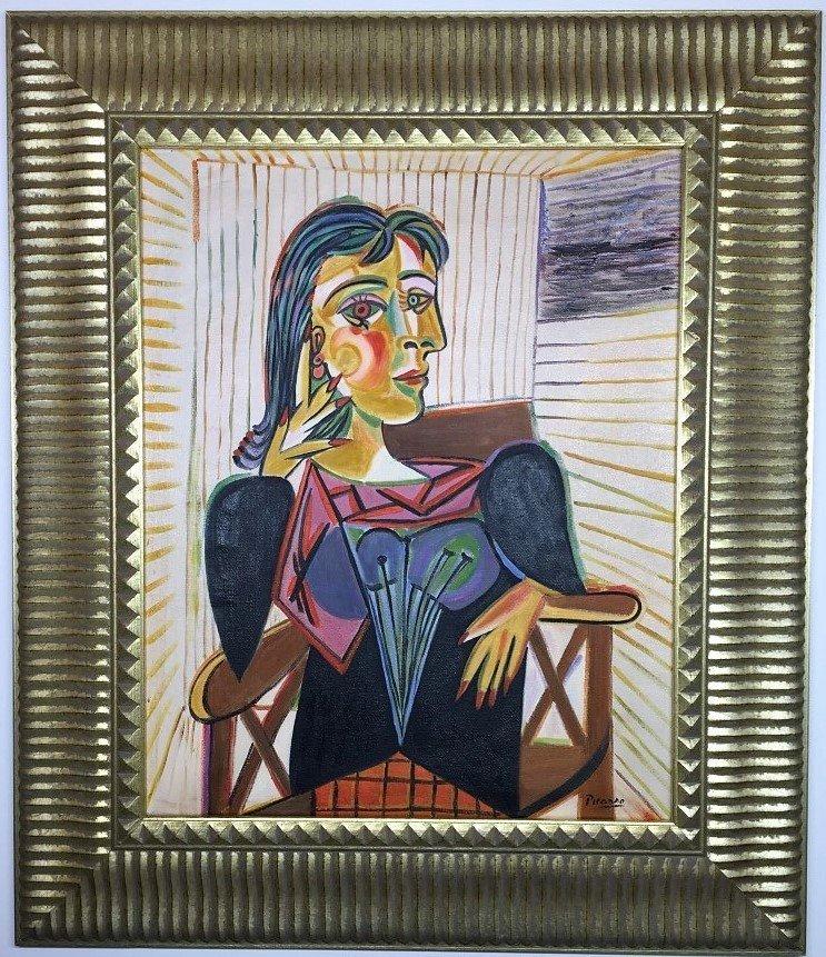 Pablo Picasso Oil on Canvas