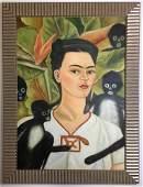 Frida Kahlo Oil on canvas
