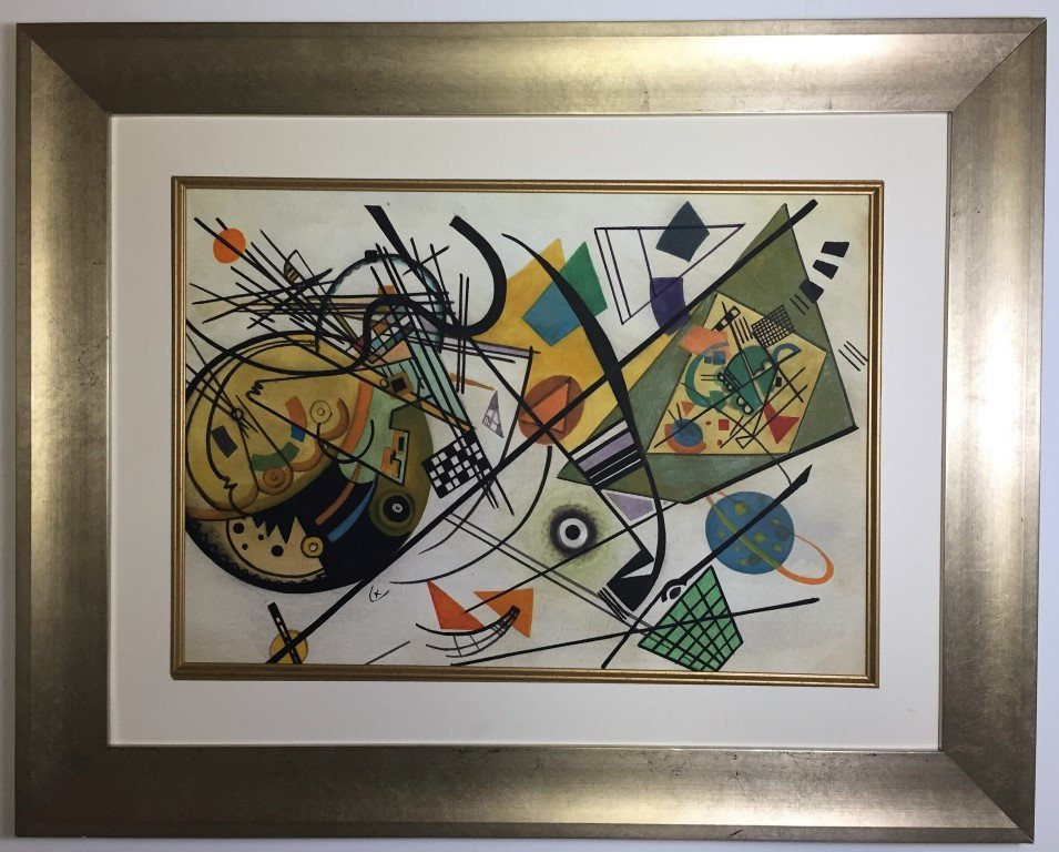 Wassily Kandinsky Gouache on paper