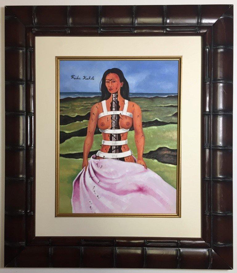 Frida Kahlo Watercolor