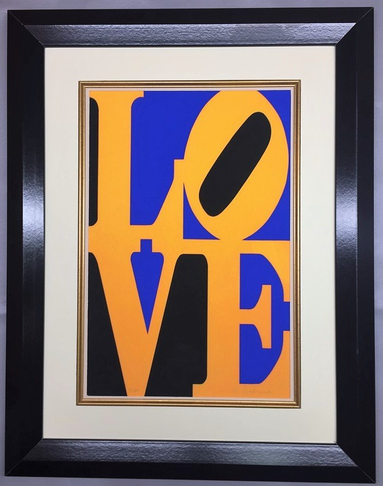 Robert Indiana Lithograph