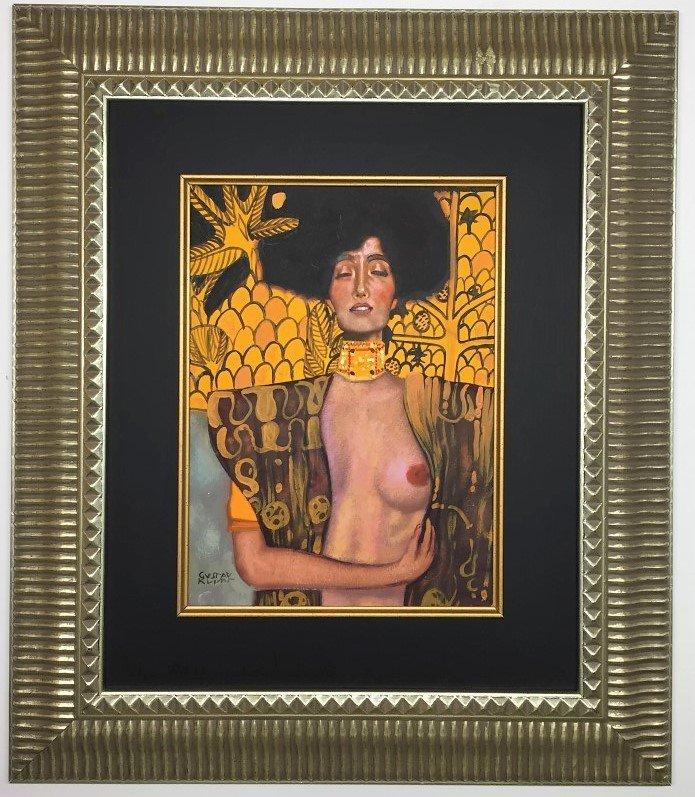 Gustav Klimt  Mixed Media  on Paper