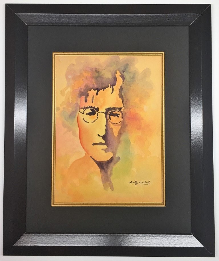 Andy Warhol  Watercolor