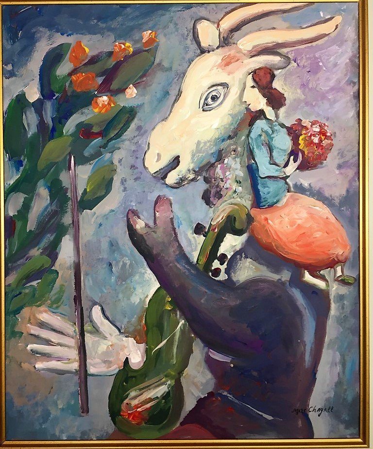 Marc Chagall Mixed Media on paper - 2