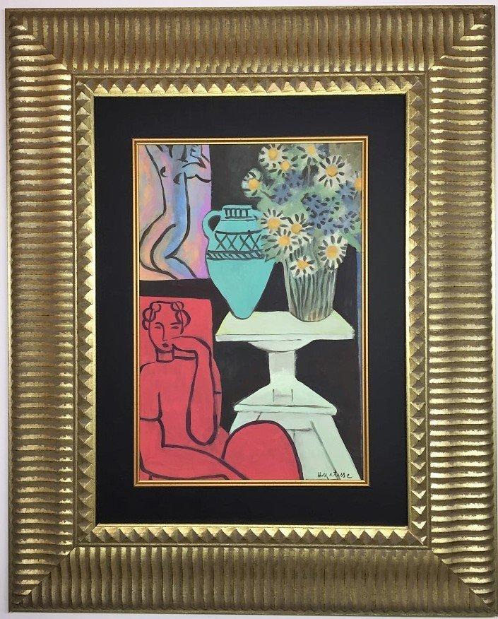 Henri Matisse  Watercolor on Paper