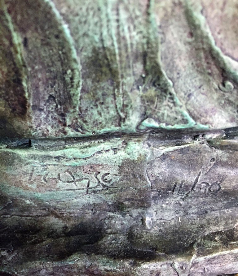 Pablo Picasso Bronze Sculpture  signed - 3