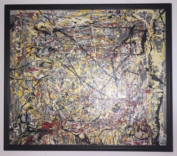 Jackson Pollock Oil on canvas