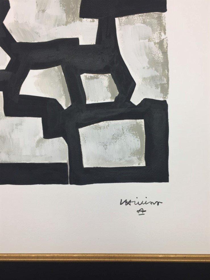 Eduardo Chillida  Mixed Media on paper - 2