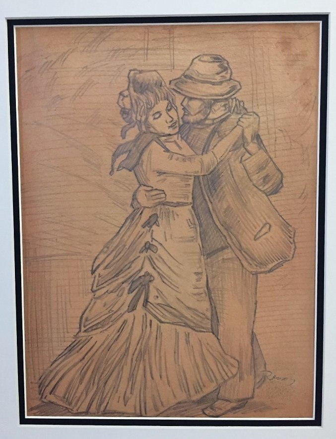 Pierre-Auguste Renoir Graphite on Paper - 2
