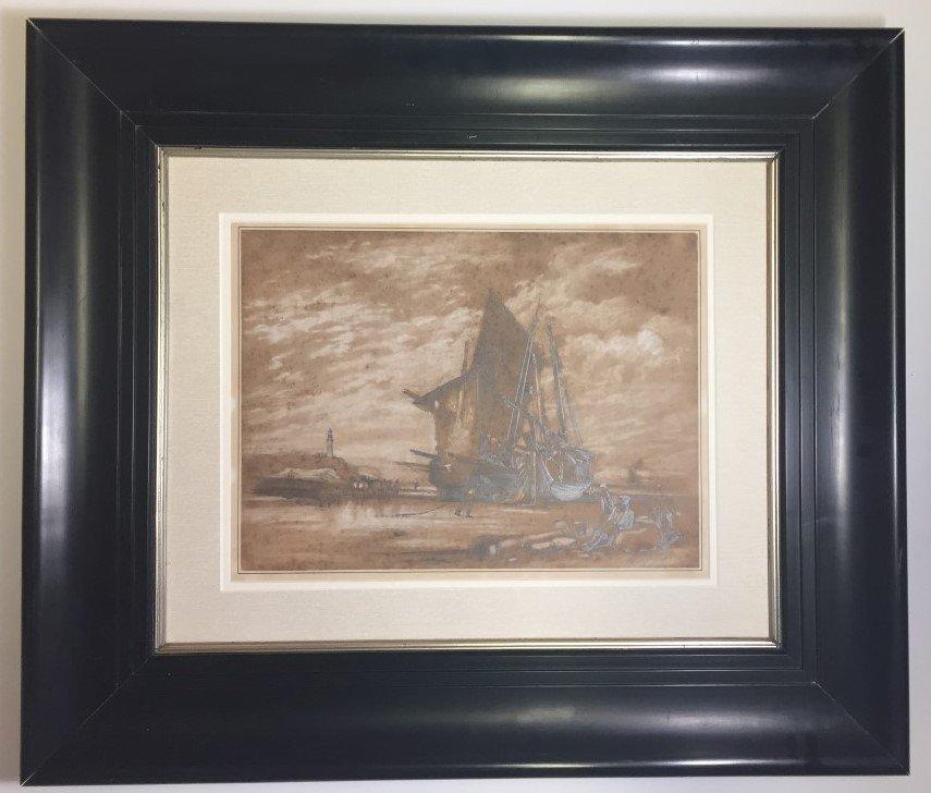 Edward Hopper Watercolor   on paper