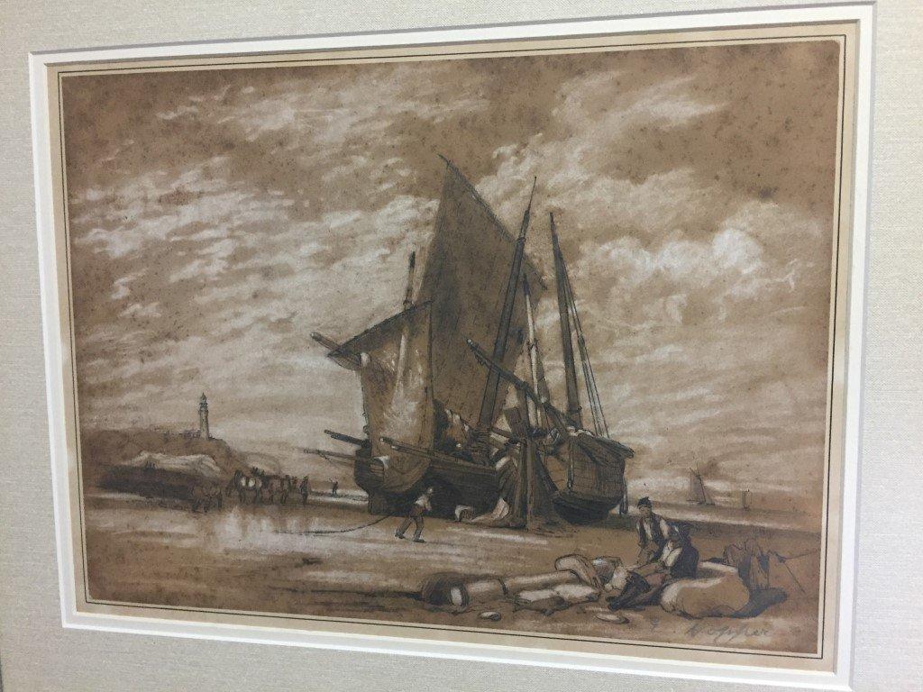 Edward Hopper Watercolor   on paper - 2