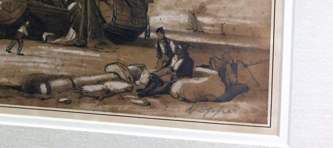 Edward Hopper Watercolor   on paper - 3