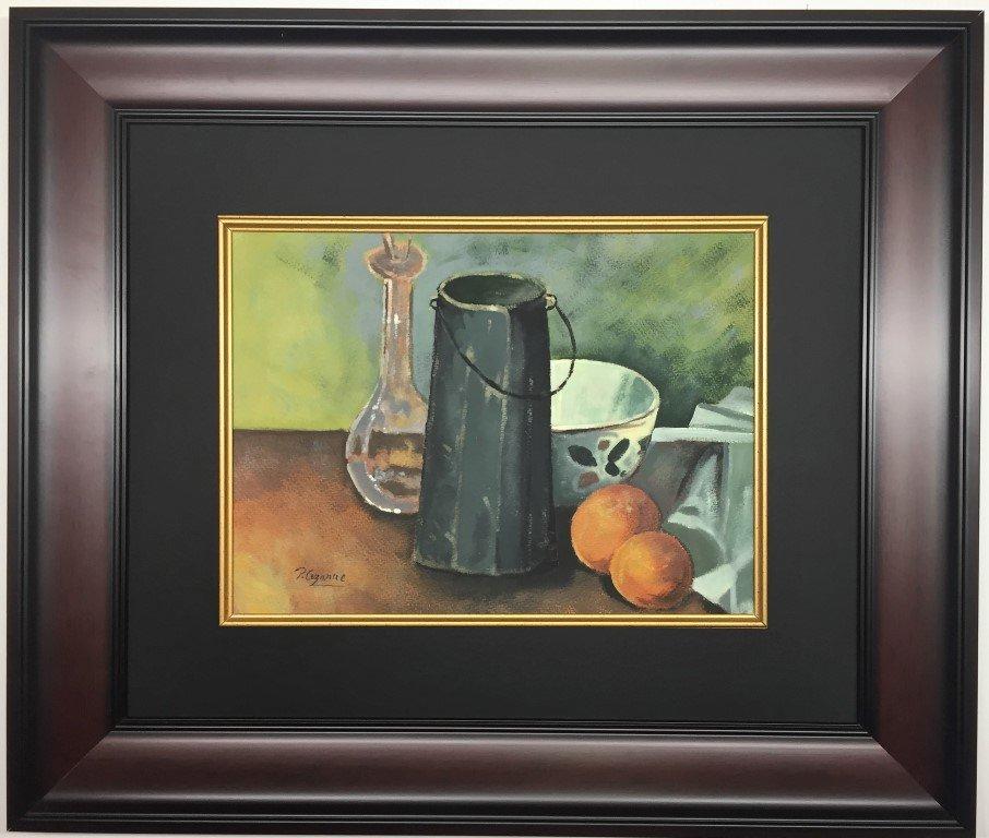 Paul Cezanne Gouache on Paper