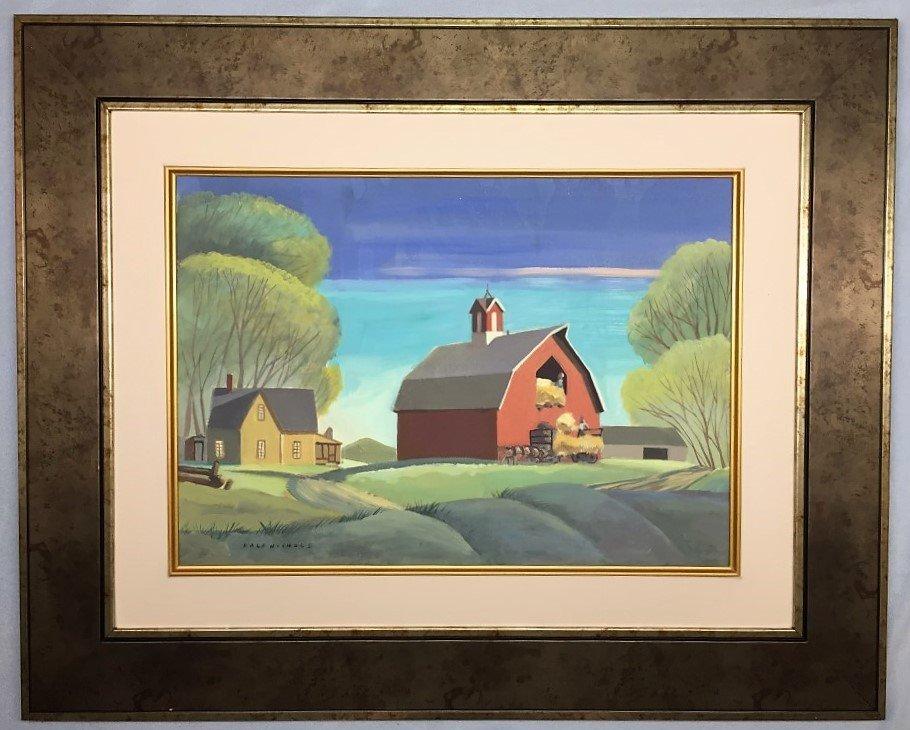 Dale Nichols  Watercolor